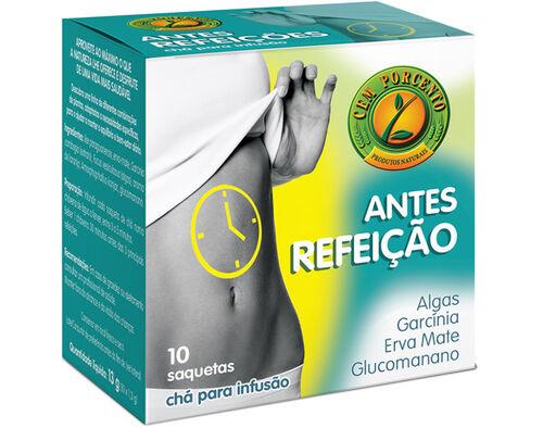 CHÁ CEM PORCENTO ANTES DA REFEIÇÃO 10 SAQ image number 0