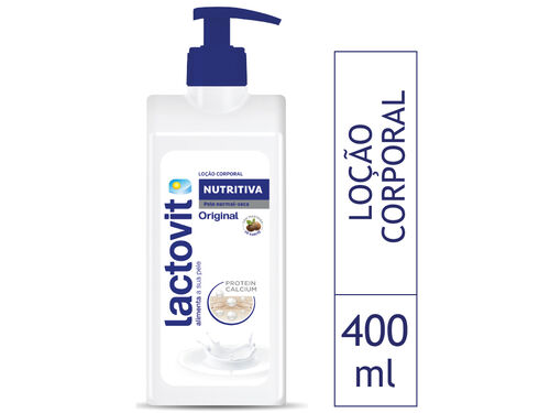 LOÇÃO CORPORAL LACTOVIT NUTRITIVA 400 ML image number 0