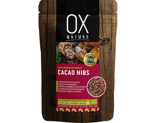 CACAU NIBS OX NATURE 100% BIO 125G image number 0