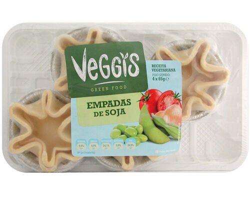 EMPADAS VEGGIS SOJA 4X65G image number 0