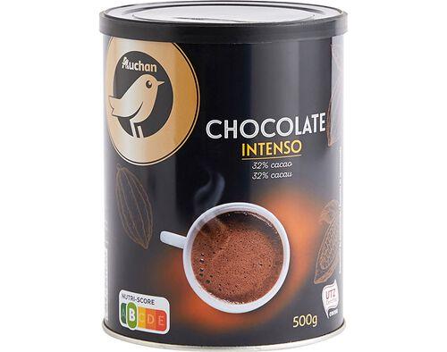 CHOCOLATE AUCHAN GOURMET INTENSO 32% CACAU 500G image number 0