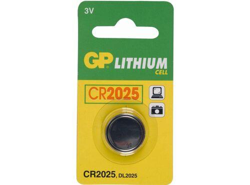 PILHA GP LITIO CR2025-B1 image number 0