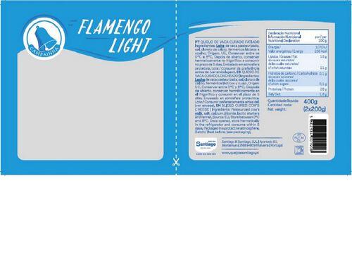 QUEIJO CAMPAINHA FATIAS LIGHT 2X200G image number 1
