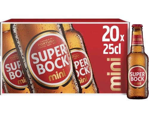 CERVEJA SUPER BOCK 20X0.25L image number 0