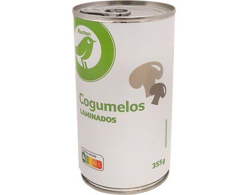 COGUMELOS AUCHAN ESSENCIAL LAMINADOS 355G image number 0