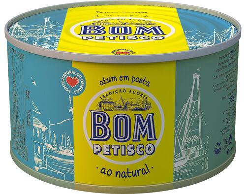ATUM BOM PETISCO POSTA AO NATURAL 385G image number 0