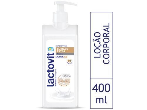LOÇÃO CORPORAL LACTOVIT LACTOOIL 400 ML image number 0