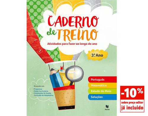 CADERNO DE TREINO TEXTO 3º ANO image number 0