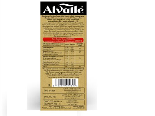 ALVALLE GOURMET 1L image number 1