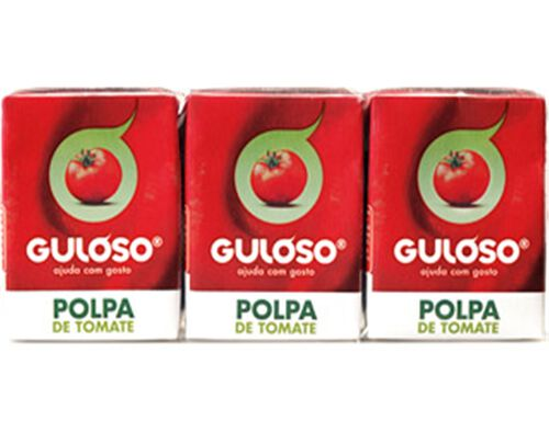 POLPA GULOSO TOMATE 3X210G image number 0