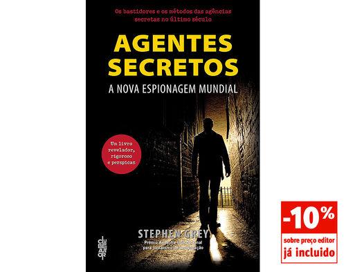 LIVRO AGENTES SECRETOS STEPHEN GREY image number 0