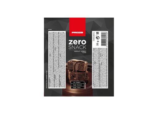 BARRA PROZIS ZERO SNACK BROWNIE CHOCOLATE 35G image number 1