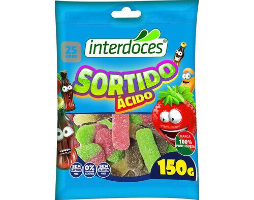 GOMAS INTERDOCES SORTIDO ACIDO 150 G image number 0