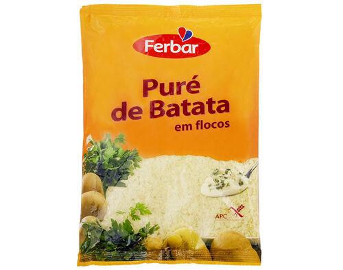 PURÉ FERBAR BATATA SAQUETA 400G image number 0