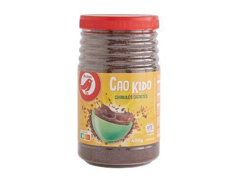 CHOCOLATADO AUCHAN GRANULADO CAO KIDO MAGRO 400G image number 0