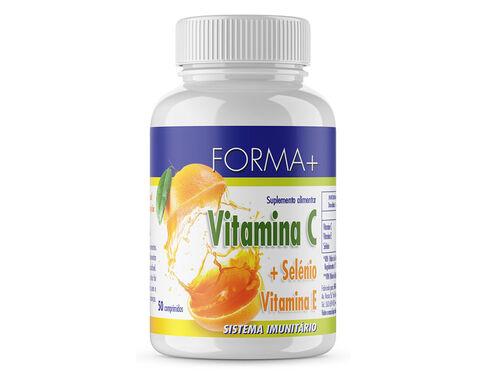 SUPLEMENTO FORMA+ VITAMINA C SELÉNIO VITAMINA E 50 CAPS image number 0