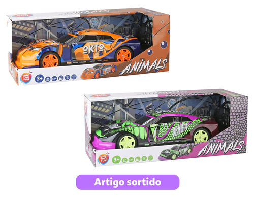 VEICULOS R/C ANIMAZ ONE TWO FUN 27MHZ MODELO SORTIDO image number 0