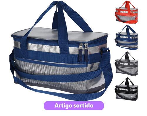 SACO TERMICO COOLER BAG ALUMINIO 12LTR 4ASS CLR . image number 0