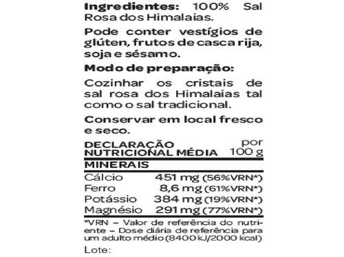 SAL SALUTEM ROSA HIMALAIAS GROSSO 500G image number 1