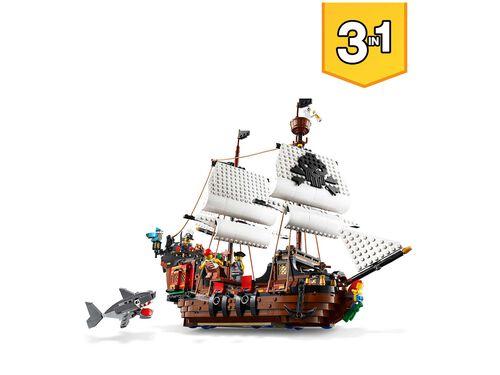 BARCO PIRATA LEGO CREATOR