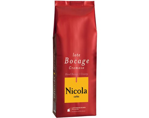 CAFÉ NICOLA EM GRÃO LOTE BOCAGE 1KG image number 0