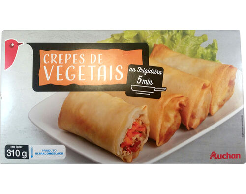 CREPES AUCHAN VEGETAIS 310G image number 0