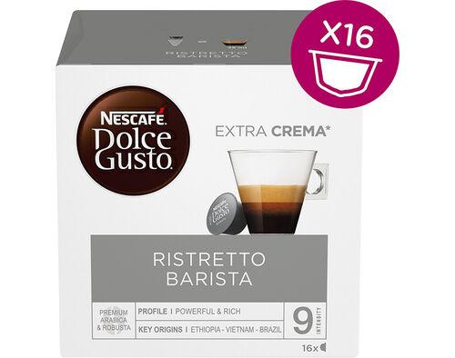 CÁPSULAS DOLCE GUSTO CAFÉ RISTRETTO BARISTA 16 UNIDADES image number 0