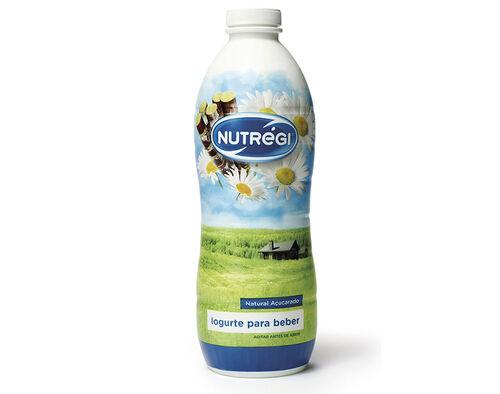 IOGURTE LIQUIDO NUTRÉGI NATURAL AÇUCARADO 750 G image number 0
