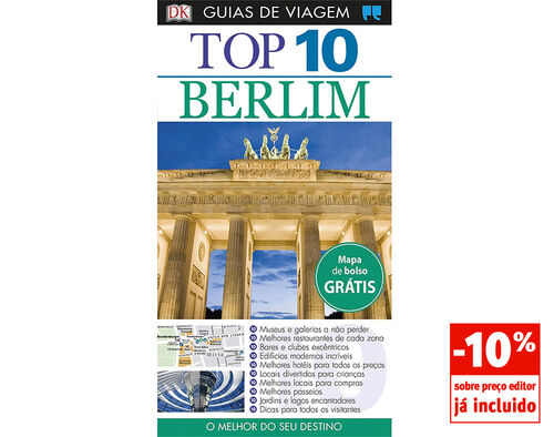 LIVRO GUIAS DE VIAGEM TOP 10 BERLIM image number 0