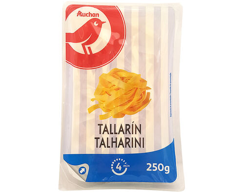 MASSA AUCHAN TALHARINI 250G image number 0