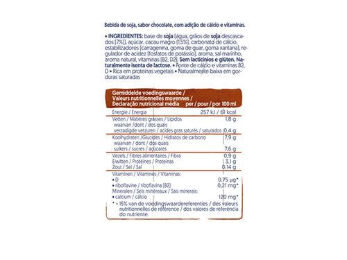 BEBIDA ALPRO SOJA CHOCOLATE 3X250ML image number 1