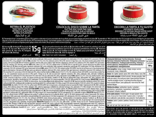DECORAÇÃO PASTELARIA CARS DISCO 15 G image number 1
