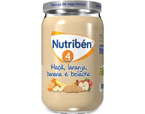 BOIAO NUTRIBEN MAÇA LARANJ BANAN BOLACHA 235G image number 0