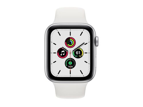 APPLE SILVER 44MM WATCH SE MYDQ2PO/A image number 1