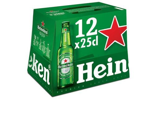 CERVEJA HEINEKEN PREMIUM 12X0.25 L image number 0