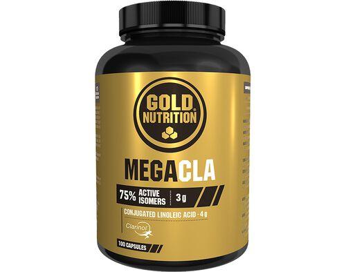 SUPLEMENTO GOLDNUTRITION MEGA CLA 100 CAPS image number 0