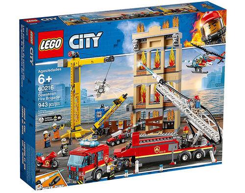 BOMBEIROS COMBATEM O FOGO LEGO NO CENTRO DA CIDADE image number 0