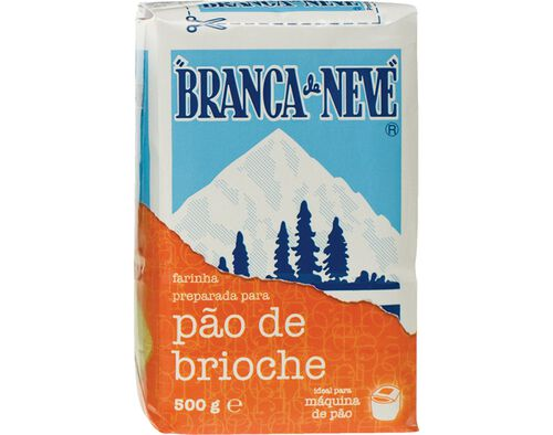 FARINHA BRANCA DE NEVE PREP.P/PAO BRIOCHE 500G image number 0