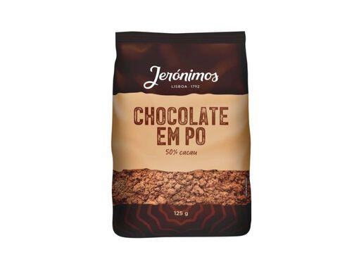 CHOCOLATE JERONIMOS EM PÓ 50% 125G image number 0