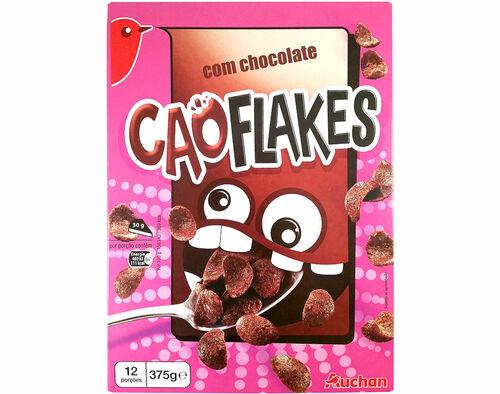 CEREAIS AUCHAN CAO FLAKES COM CHOCOLATE 375G image number 0