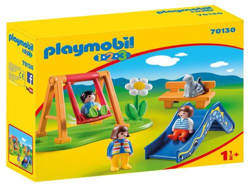 1.2.3 PARQUE INFANTIL PLAYMOBIL image number 0