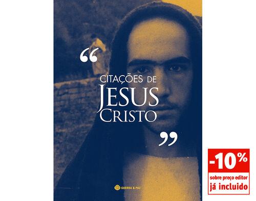 LIVRO CITAÇÕES DE JESUS CRISTO GUERRA E PAZ EDITORES S.A. image number 0