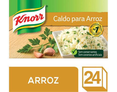 CALDO KNORR PARA ARROZ 24 CUBOS image number 0