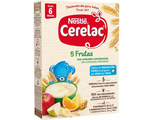 FARINHA LÁCTEA CERELAC 5 FRUTOS 250 G image number 0