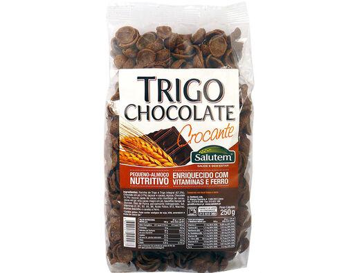 CEREAIS SALUTEM TRIGO CHOCOLATE CROCANTE 250G image number 0