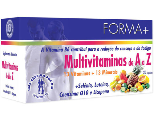 SUPLEMENTO FORMA+ MULTIVITAMINAS A-Z 30 CAPS image number 0