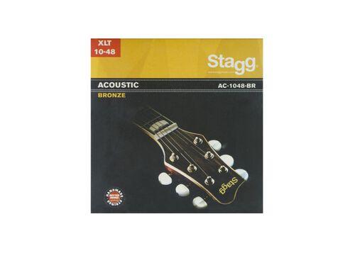 CORDAS GUITARRA FOLK STAGG AC-1048-BR image number 0