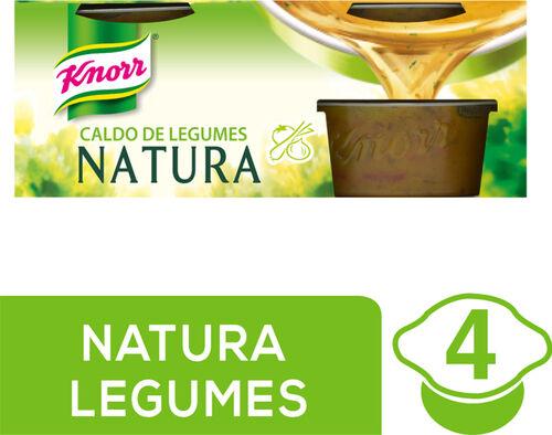 CALDO KNORR NATURA LEGUMES 4X28G image number 0