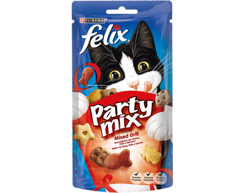 SNACK GATO PARTY MIX FELIX MIXED GRILL 60GR. image number 0