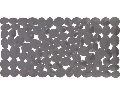 TAPETE ANTIDERRAPANTE ACTUEL PVC PEDRAS CINZENTO 73X36CM image number 1